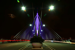 Putrajaya Bridge (Haryth Hayqal) Tags: bridge light car long slow led filter malaysia nd shutter putrajaya