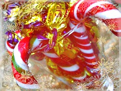 A Sweet Christmas (Cathlon) Tags: christmas candy canes sweets picnik ansh scavenger12