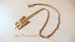 Gold SAS Pendant (PureGoldPlating) Tags: sas goldplated pendant goldplating saspendant