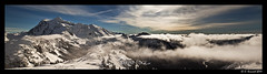 Great Expectations (AlpineEdge) Tags: trees winter panorama cloud sun snow ski mountains ice fog snowshoe outdoors washington peak bluesky hike alpine valley cascades summit backcountry tablemountain northcascades mtshuksan mtbakerskiarea