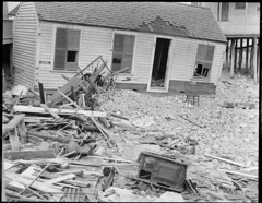 Storm damage (Boston Public Library) Tags: weather storms floods lesliejones