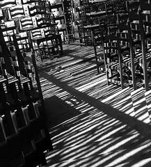Strips, Chairs and Tables (Serlunar (tks for 6.2 million views)) Tags: shadow flickr do fotos strips artcafe otw premiadas flickrduel blackwhiteaward bwartaward serlunar
