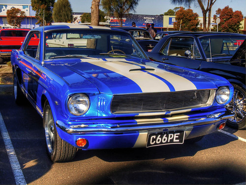 1966 Ford Mustang Shelby Coupe