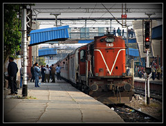 Guwahati Rajdhani Express Approaching New Delhi !!!