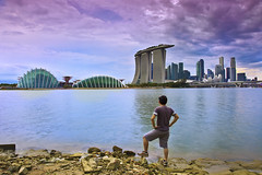 Singapore Storming December (Kenny Teo (zoompict)) Tags: blue light sea sky cloud seascape building tourism water beautiful canon wonderful lens landscape photo yahoo google scenery photographer waterfront view walk wave tourist best kenny zoompict singaporelowerpiercereservoir