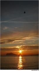 Suave atardecer otoñal (Ubierno) Tags: sunset sea sky españa valencia clouds atardecer mar spain mediterranean mare alicante ciel cielo nubes puestadesol nuages mediterráneo mediterraneansea benidorm calpe alacant comunidadvalenciana comunitatvalenciana ubierno doubleniceshot mygearandme mygearandmepremium mygearandmebronze mygearandmesilver dblringexcellence