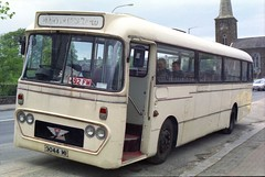 Repatriation of FEH 169J (1) (Renown) Tags: ireland irish heritage buses stokeontrent preserved alexander 169 coaches preservation reliance aec feh pmt singledecker ytype potteriesmotortraction 6u2r oscoaches 169j 3044mi regalivbadge