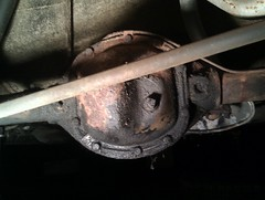 volvo amazon rear dana 1966 spicer 122 differential axle