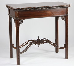 16. Chippendale style Game Table