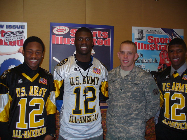 Soldier of the Year and Army All-Americans at Sports Illustrated offices