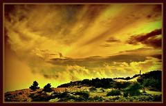 "Kuca ""Vladimir Nazor"" na Vidovoj gori. (Gena Golovskoy) Tags: mountain clouds digital island islands russia moscow croatia az na editing gena dalmatia brach gori vladimirnazor nazor ggolovskoy golovskoy badmanproduction vidovoj scycape kuca"