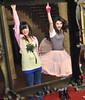 Demi Lovato and Selena Gomez (syxthlips) Tags: ca usa disney hollywood taylorswift selenagomez jaketaustin wizardsofwaverlyplace alexrusso demilovato anothercinderellastory princessprotectionprogramme
