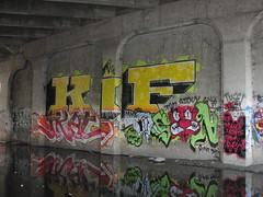 JKAT / RSON (Same $hit Different Day) Tags: graffiti bay south roller kif jkat rson