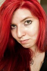 Red! (rainbow-hair) Tags: hairdye manicpanic manicpanicredpassion manicpanicvampirered manicpanicpillarboxred manicpanicrocknrollred