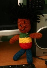 Krzyś (epka handmade) Tags: crochettoy crochetdolls recyclingtoy recyclingdolls szydełkowazabawka szydełkowalaleczka