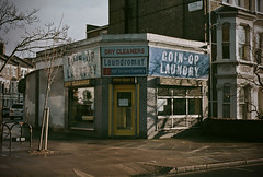(paul__williams) Tags: london film laundromat westlondon drycleaners w9 coinoplaundry