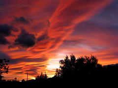countdown to Christmas- 7 days (Marlis1) Tags: sunset evening abend spain sonnenuntergang catalunya tortosa marlies onexplore altocumuluslenticularis lenticularclouds weatherphotography therebeastormabrewing gettyimagesiberiaq3 exploredec192011