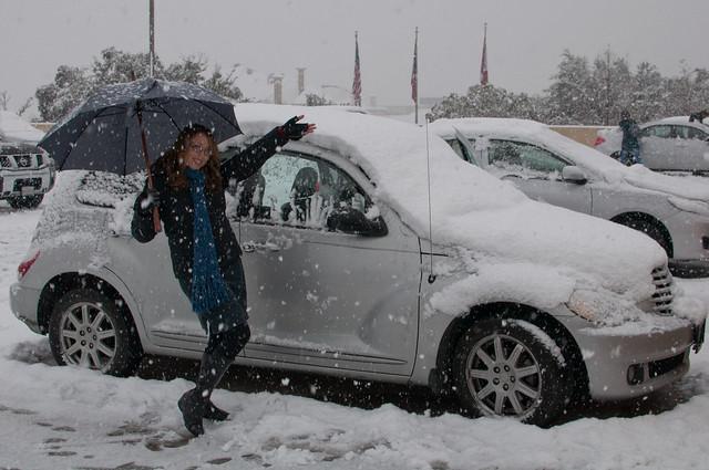 snow dallas texas marlene chrysler pt cruiser 2010