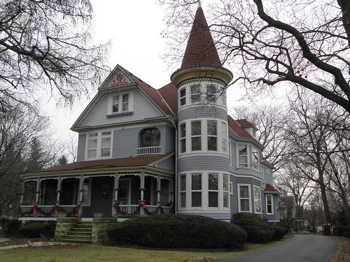 North Central College Area:  Victorian Gingerbread
