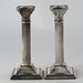 4031. Pair of English Silverplate Candlesticks