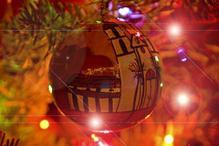 A Place In The Heart (Damian Gadal) Tags: california christmas nikon december digitalart nikond100 ornament d100 2007