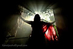 Light Bearer.... (Shad0w_0f_Dark) Tags: light sun tree ray dhaka bangladesh wintermorning 2011 oldstructure canon60d nowabginj