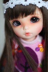 Pukifee Ante (Aya_27) Tags: pink brown cute sweet lovely custom fairyland pinkish ante kissablelips pukifee faceupbyandreja icantdancesweater enchanted14mmeyes fmdwig