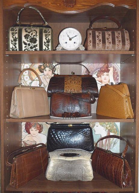 "My vintage ""walk-in closet"". November 2011, Paris."