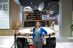 Jeep that broadcasted from war (ana_feliciano) Tags: news tv war jeep headquarters international cnn hq