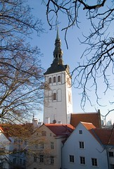 The Niguliste church, (or St. Nicholas's Church) (Kurisu Kuupaa) Tags: christmas town tallinn estonia december baltic medieval hanseatic fortess toompea stnicholasschurch formersoviet   nigulistechurch balticrepublic taanikuningaaed