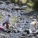 Donne di Chivay lavano i panni