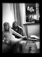 Ella and Agnes (anderspramborg) Tags: sylvester newyear happynewyear nyr gottnyttr nyrsfest