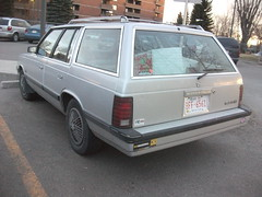 Plymouth Reliant station wagon