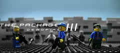 The Package III - official poster (Saminatorger) Tags: 3 lego guns package brickarms
