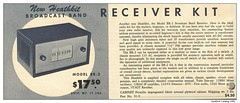Heathkit Catalog 1951  / Receiver BR-2 (Arjan N / PE1GVK) Tags: radio vintage advertising may ham equipment electronics catalog amateur receiver amateurfunk 1951 vintageadvertising hamradio heathkit gvk br2 vintageads vintagemagazine