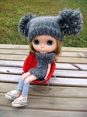knitted suit for blythe