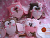 Pingentes de Corujitas (mariafloratelier2) Tags: bird heart felt owl coração coruja feltro heartfelt lavanda piupiu sachê corujita