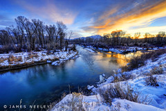 Morning Virtues (James Neeley) Tags: sunrise landscape idaho snakeriver hdr swanvalley 5xp jamesneeley flickr24