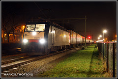 Zevenaar, 14-01-2012 (Mark Rail) Tags: cargo zevenaar wrth htrs br189 50163 189211 wrthshuttle