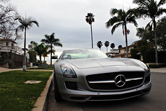 Residential. (Charlie Davis Photography) Tags: silver grey mercedes benz awesome matte bens sls amg
