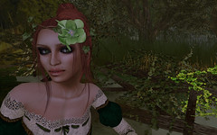 One Week of Color ~ Green Eyes (Fin[ny]) Tags: avatar greeneyes secondlife aught oneweekofcolor
