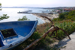 Sveti Vlas (MauriceVanGestel Photography) Tags: sea panorama haven mountains beach water strand boats boot harbor boat mar agua barco view barcos harbour sunny playa zee boten more bulgaria beaches bergen uitzicht burgas sunnybeach luxury blacksea karadeniz bootje luxe bg stranden playas anker marea bulgarian bulgarije sveti vlas bourgas zwartezee  cherno mareaneagra neagra chernomore  svetivlas balgarija  badplaats zonnestrand brjag marnegro  bulgaars   slanchev luxueus  slanchevbyrag byrag slanchevbrjag svetivlasbulgarije svetivlasbulgaria harboursvetivlas havensvetivlas luxebadplaats viewsvetivlas uitzichtsvetivlas