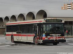 Toronto Transit Commission #7334 (vb5215's Transportation Gallery) Tags: new toronto flyer ttc 1999 transit commission d40lf