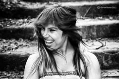 Miriam - 52 [B&N] (G. Goitia Fts) Tags: portrait cute beautiful beauty pose book model exterior retrato gorgeous modelo linda stunning session framing guapa serie belleza edicin composicin sesin posado encuadre postura canoneos5d procesado modelpossing