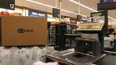 Wal-Mart - SE 14th Street - Des Moines, Iowa - New Scanners! (fourstarcashiernathan) Tags: street se iowa des walmart cash company national register 14th moines ncr