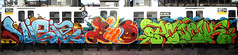 Vizie x Bio x PCock (tatscruinc) Tags: newyork graffiti bronx bio ps msk burners nicer tatscru vizie huntspoint bubbleletters bg183 totem2 dmote simplestyle themuralkings