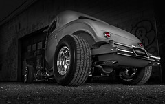 Alley Cat (Neil Banich Photography) Tags: cars ford car details heavymetal jackson custom artcar hotrods ratrod 1932ford autoart 3windowcoupe carscool picturescool neilbanichphotograhy imagescool hotrods1932artisticbwautomobilebarret