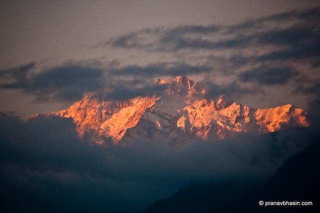 Kanchenjunga Sunset