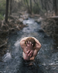 Trist isel. (David Talley) Tags: california winter shirtless cold wet water composite creek forest river dark hair arms bend muscle freezing claw jungle flowing biceps bicep rushing clawing 365project brrrrrrrrrrrrrrrr davidtalley hahathisgotputonaredhairedphotoblogdoesitreallylookredhahahohman