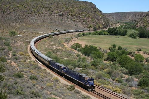 Shongololo Express - Train from a distance